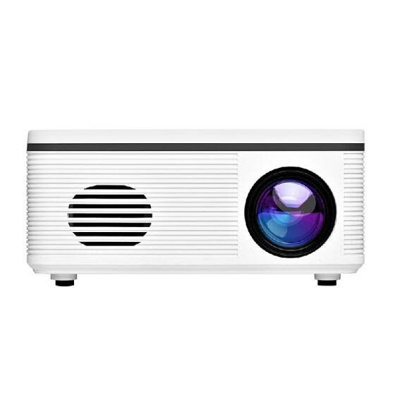 1080P Mini HD Projector 30 Lumen Portable LED Light USB AV Port For Office Home Theater Outdoor US Plug
