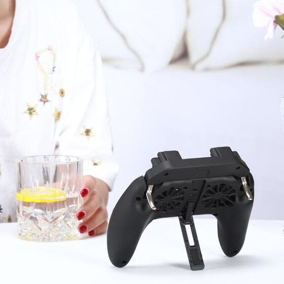H10 4 in 1 Mobile Game Controller Gamepad for PUBG with 5000mAh Power Bank