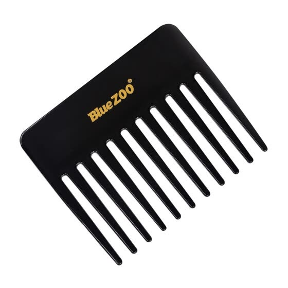 Mnycxen Wide Tooth No-static Massage Hair Natural Comb Massage Comb Slicked-Back Hair
