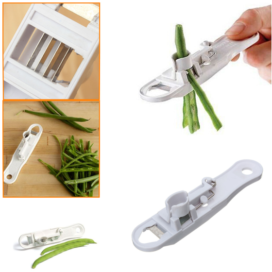 French Style Green Bean Vegetable Runner Slicer Cutter Stringer Remover Peeler