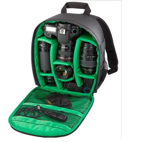 Multi-Functional Outdoor Waterproof Shockproof Storage Bag Travel Backpack For Canon EOS Sony Nikon DSLR Digital Camera