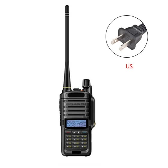 Waterproof Two Way Radio Speaker Mic Microphone Replacement for Baofeng BF-UV9PLUS US Plug