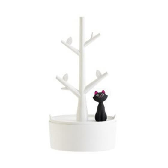 ESSEN Jewelry Rack Cat Tree Shape Jewelry Earrings Necklace Bracelet Stand Holder Storage Rack Box