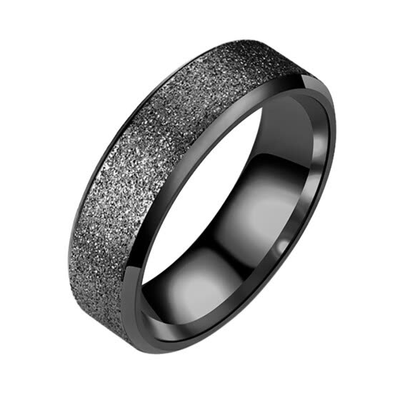 Valentine'S Day Women'S Men'S Fashion Stainless Steel Ring Wedding Band Ring