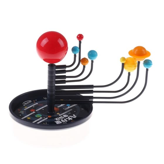 ESSEN DIY Model Toy DIY Eight Planets Solar System Model Assembling Teaching Aids Kids Education Toy