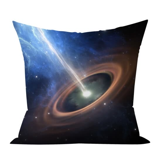 TOYFUNNY Black Hole Universe Galaxy Pillow Case Cover Sofa Cushion Cover Pillowcases Christmas Pillow Cover