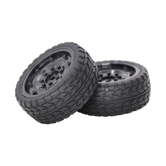 2PCS Car Tire Rubber Wheel Tyre 63mm For 1:10 RC Drift On-Road Racing Car Truck