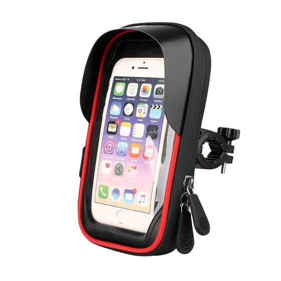 Waterproof Motorcycle Mobile Phone Holder Bag Case MTB Touch Screen 4.5-6.5 Inch