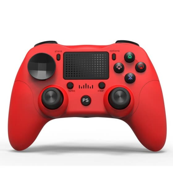 Dual Vibration Six Axis Integrated Bluetooth Wireless Game Controller With Gamepad Pressure Panel For PS4 / Android / PC