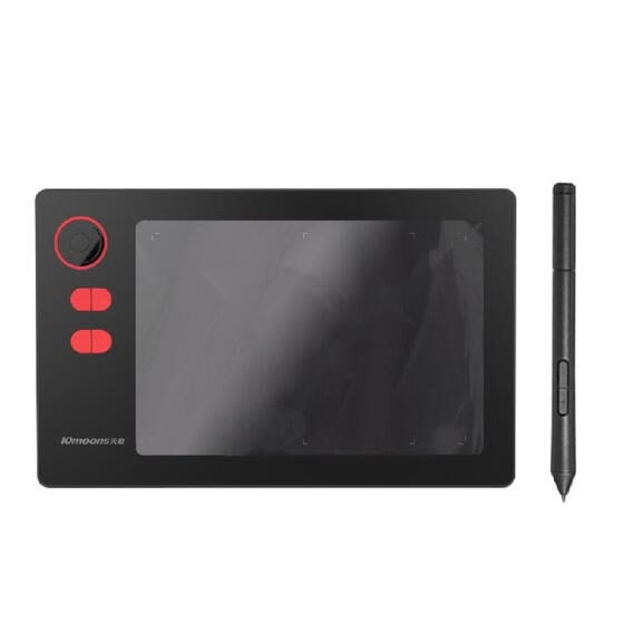 G20 Professional Graphic Tablet 8192 Levels Digital Drawing Tablet with No need charge Pen Ultralight Grafische Tablet