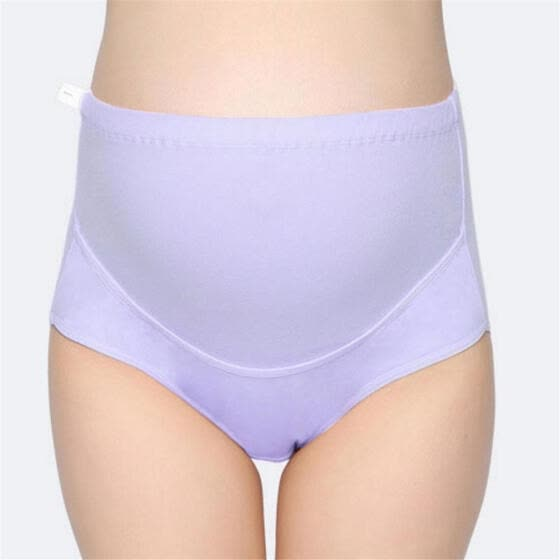Pregnant Women Underwear Cotton High Waist Large Size Adjustable Maternity Panties