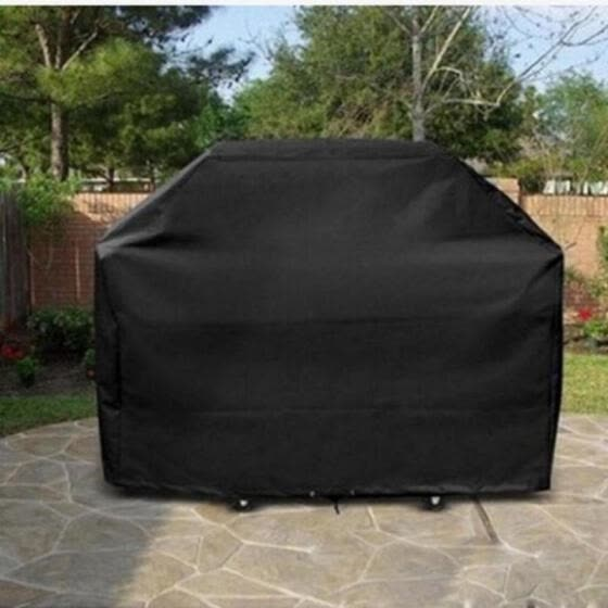 Fashion Dustproof Waterproof BBQ Grill Cover Rainproof Barbecue Covering Shades
