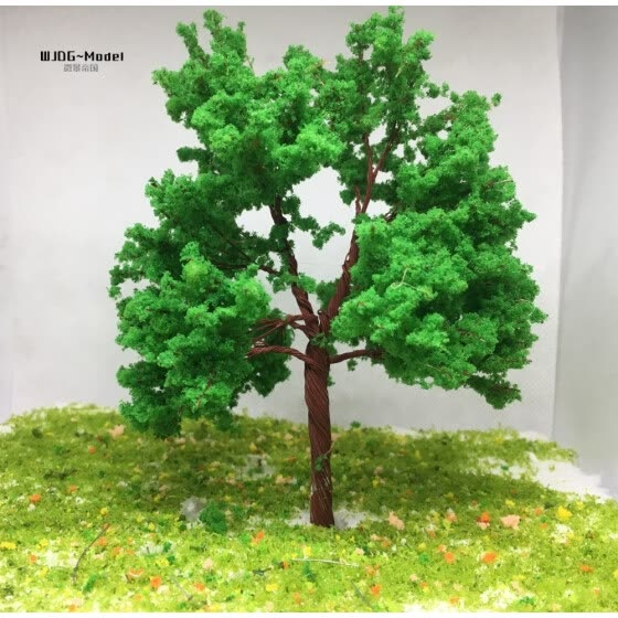 Shop Sand table building model tree train road trees 15 to 30 cm