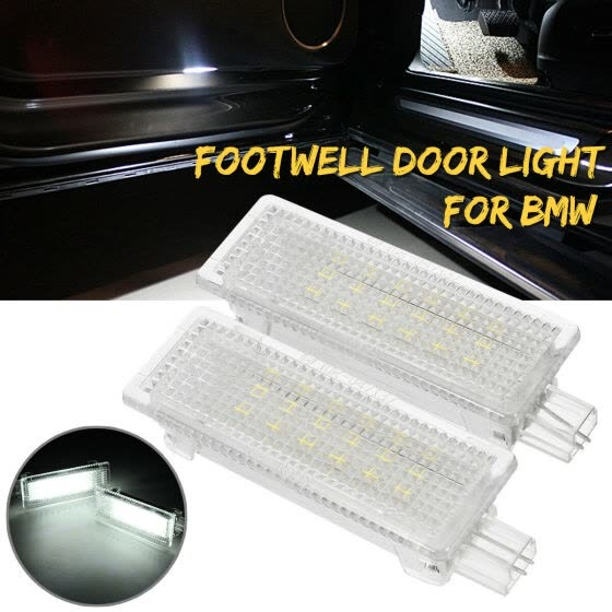 1 Pair Car Interior LED Door Polite Luggage Lights For BMW 1 3 5-7 Series X3 X5