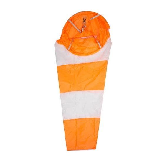 White and Red Fluoerscence Waterproof Wind Sock Wind Sleeve