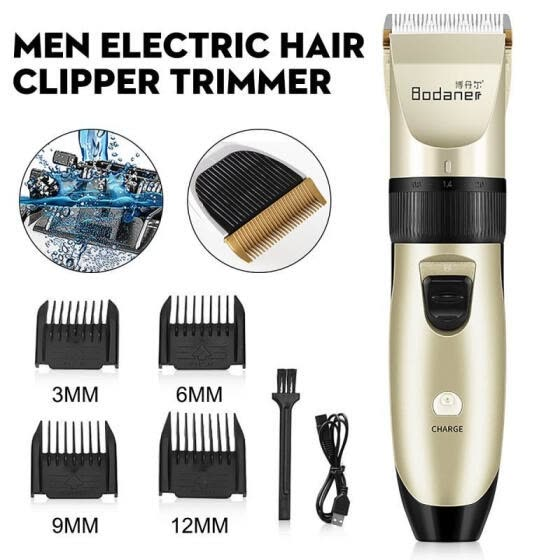 Stoneway Hair Clippers Set Men Beard Shaver Razor Cutter Trimmers Cordless Low N