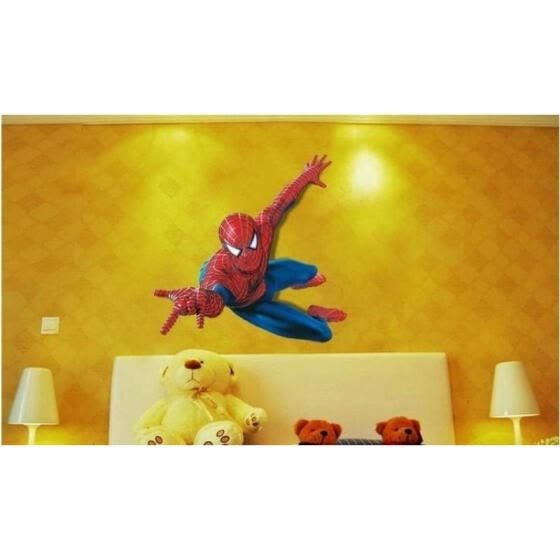 Shop Hot Super Hero Spider Man Movie Pvc Wall Stickers Art Decals Kids Boy Room Decor Online From Best Outerwear On Jd Com Global Site Joybuy Com