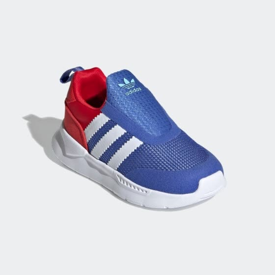 adidas Adidas 2021 spring clover baby boy children shoes FX4942 high gloss red 20 yards/115mm/4k