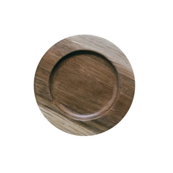 YD-Solid Wood Simple Acacia Insulation Coaster