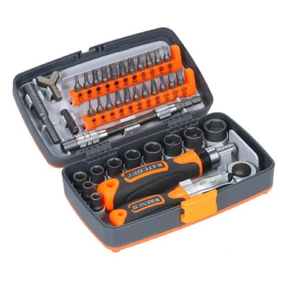38pc Precision Ratchet Screwdriver Bit Set Magnetic Screwdrivers Kit Electronics Repair Tool Kit with Flexible Shaft Extension Rod