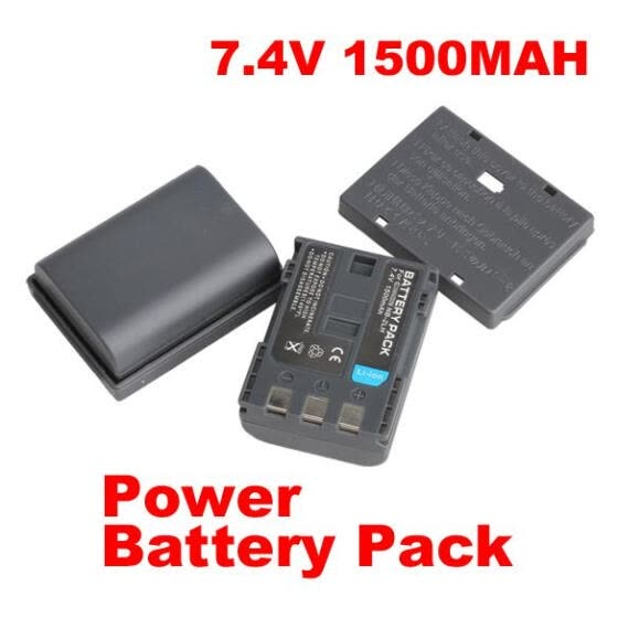 Mini DV Camera Rechargeable Li-ion Battery for Canon PowerShot S80 G7 G9 NB-2LH