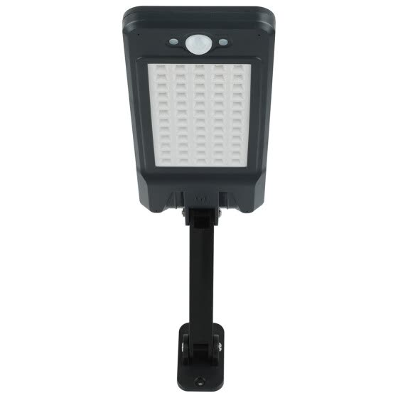 LED solar wall light with remote control function (light control, human body induction)
