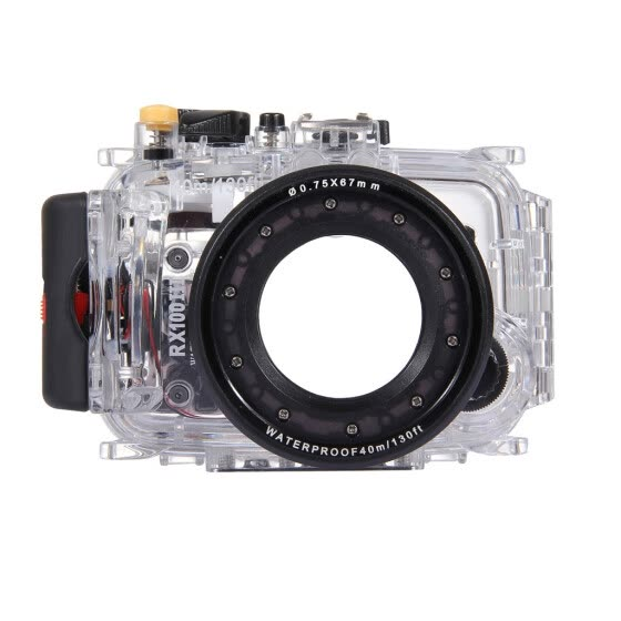 PULUZ 40m Underwater Swimming Diving Waterproof Camera Case For SONY RX100 III