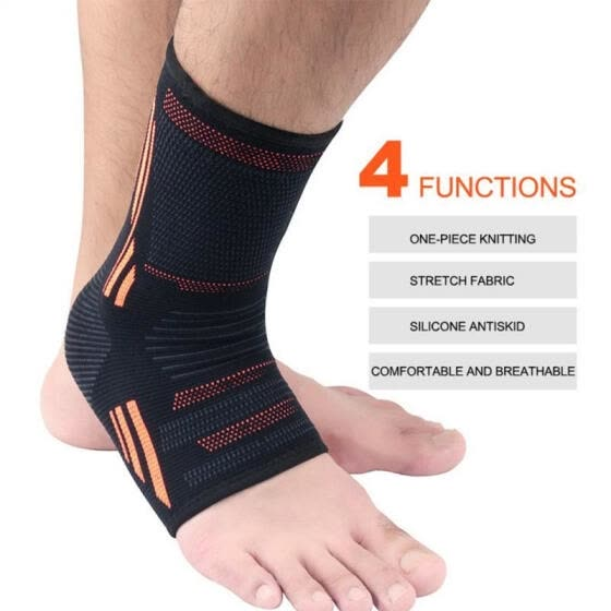 Ankle Support Brace Adjustable Elastic Foot Compression Sports Safety