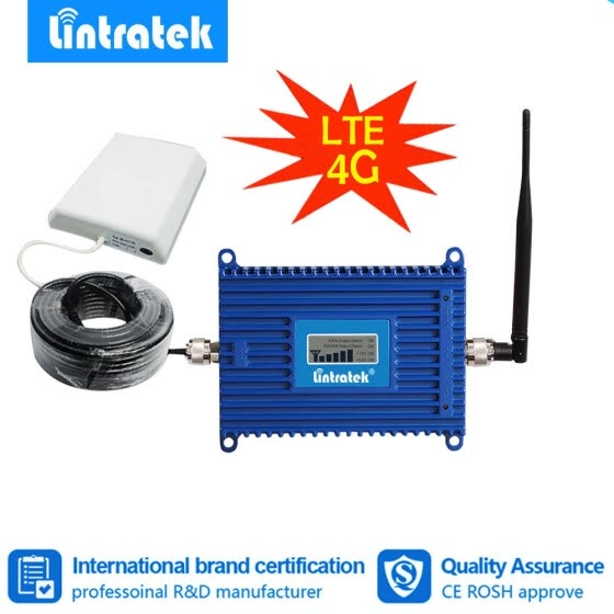 Shop Lintratek 4G LTE 800mhz Cell phone Signal Booster LTE 800 MHz