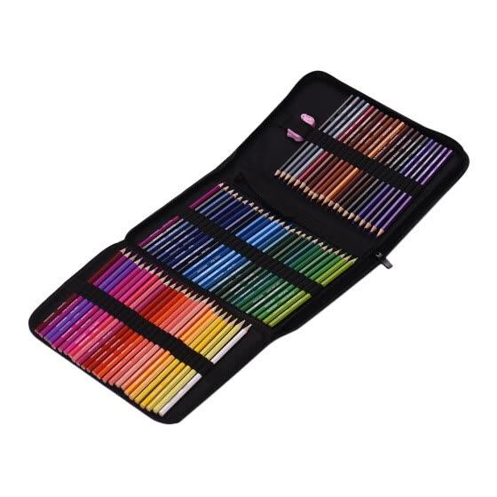 Juego De Lápices De Colores Profesionales En Estuche De Lona