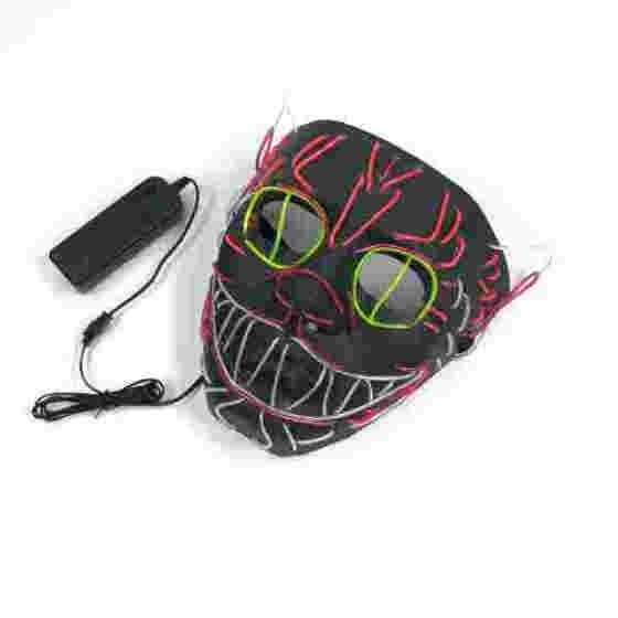 Halloween EL Wire Face Mask Cat Shape Luminous Lighted Up Glowing Scary Masks Halloween Make Up Party Cosplay Costume Props Tool