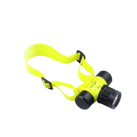 Mnycxen LED Aluminum Alloy Non-focusing R-otary Magnetic Switch Diving Headlight