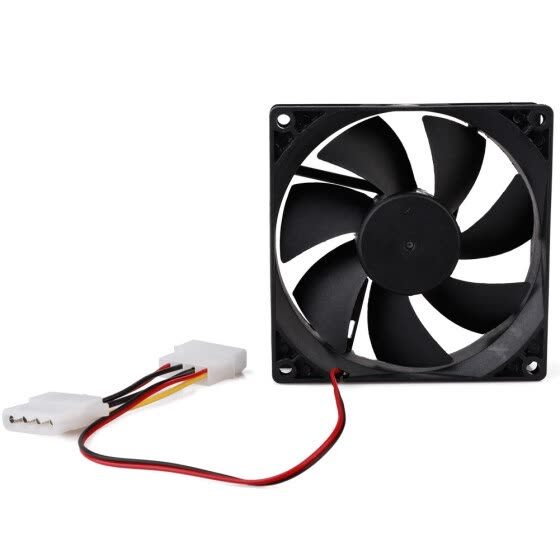 12V 4-Pin 90mm Cooler Computer PC CPU Silent Cooling Case Quiet Fan