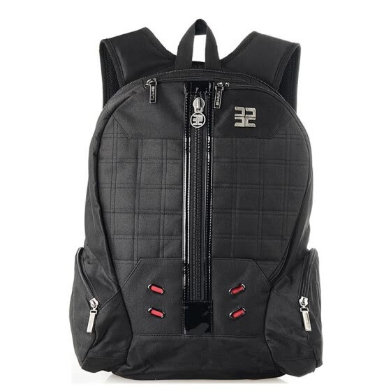 Casual backpack men and women shoulder bag fashion trend with lock outdoor light travel computer college student bag