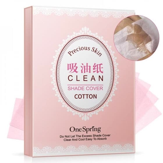 100pcs Facial Oil Blotting Sheets Paper Cleansing Face Oil Control Absorbent Paper Beauty makeup tools
