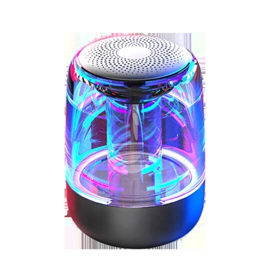 High quality Portable 6D Variable Color Lights Subwoofer Wireless Bluetooth Speaker Bluetooth Version