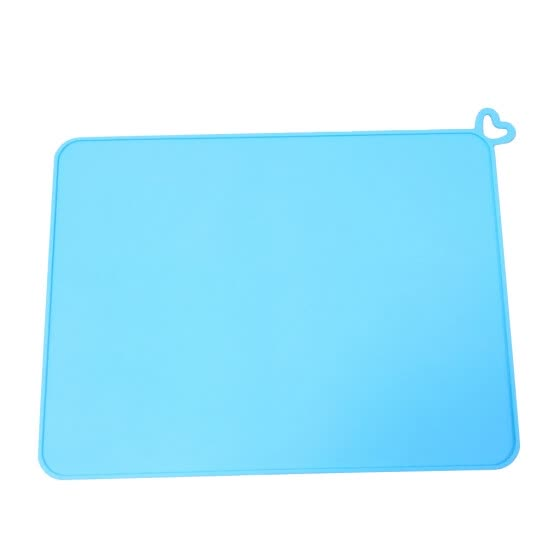 TOYFUNNY Dog Food Mat Pet Puppy Cat Feeding Mats Waterproof Dog Food Water Bowl Placemat