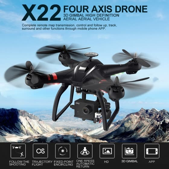 Shop X22 Double GPS Waypoint Surround Fly 1080P Wide Angle Camera