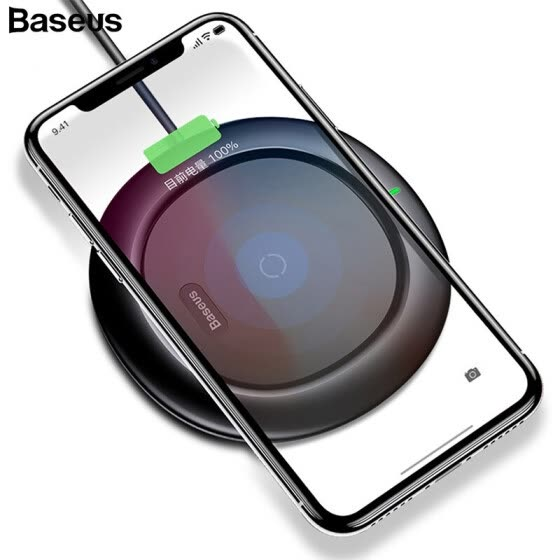 Baseus UFO Wireless Charger для iphone XS XR XS Max iphone X 8 10W Qi Wireless Быстрая зарядка для SAMSUNG S9 S8 S7