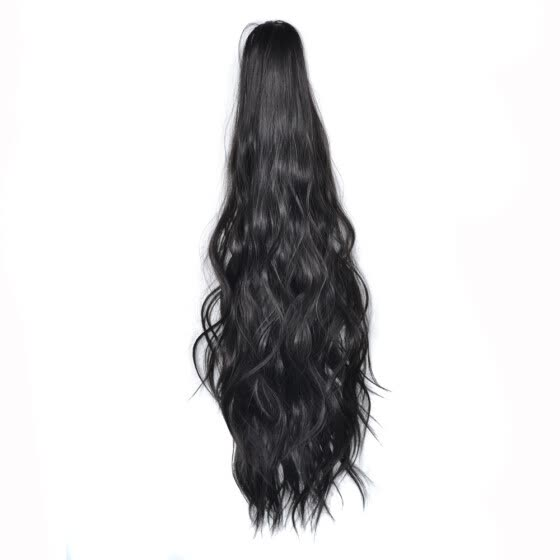 Wig Clip Ponytail Mid-length High Temperature Silk Wig Sweet