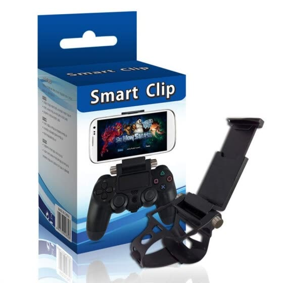 Universal Phone Bracket Adjustable Gaming Gamepad Controller Wrap Holder Mount For Sony PS4 Controller Game Accessories