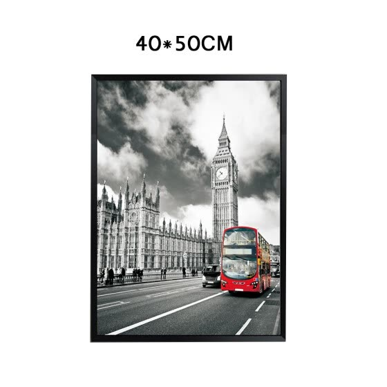 Fashion Frameless paintings London City Scenery art modern Picture Living room decoration painting frameless painting