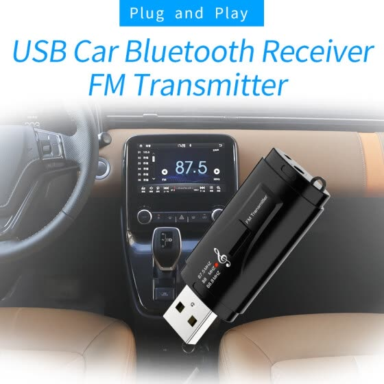 Bluetooth 5.0 Audio Receiver Transmitter Mini Stereo Bluetooth AUX USB 3.5mm Jack Wireless Adapter(Free shipping)