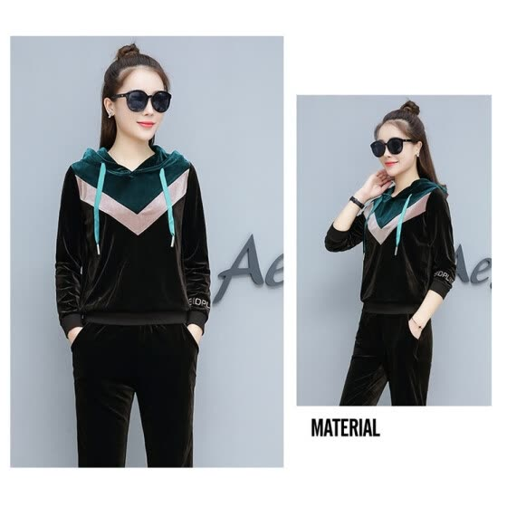 847d3725753f Shop new golden fleece sport suit for women in autumn and winter ...