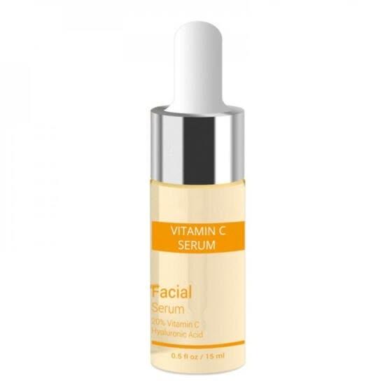 Vitamin C Serum+Six Peptides Serum 24K Gold+Hyaluronic Acid Serum Anti-Aging Moisturizing Skin Care Whitening Brighten