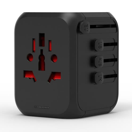 Universal All in One International Travel Adapter Socket Wall Charger AC Power Plug Adapter for USA EU UK AUS European Phones