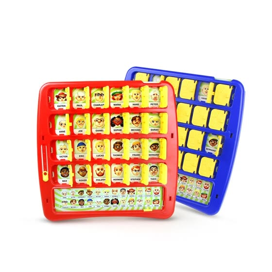 Guess Who Board Game Memory Training Family Parent-Child Interactive Educational Riddle Baby Birthday Gift Desktop Funny Game