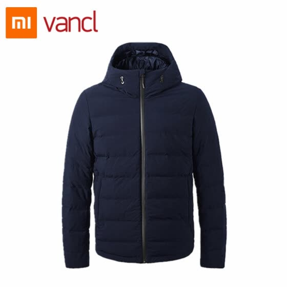 30f89682863 Xiaomi mijia vancl seamless lock warm fever goose down jacket connected  mobile power heating