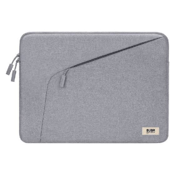 BUBM Portable Simple Laptop Large Capacity Thin and Portable Scratch-proof & Wear-resistant Multicolor Many Size Grey 14 inches