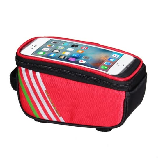 8ef8c9d9c7c 1.5L  5.5 Inch Waterproof Touch Screen Bicycle Bags Cycling Bike Front  Frame Bag Tube